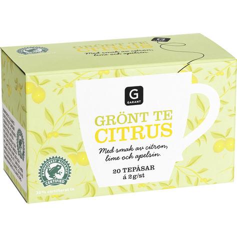 bra grönt te