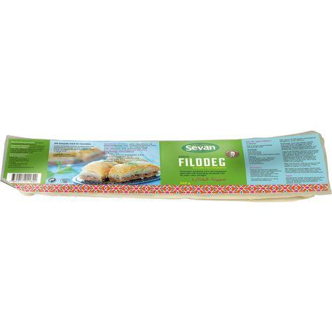 glutenfri filodeg recept