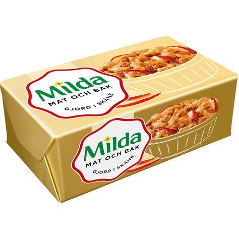 milda margarin innehåll