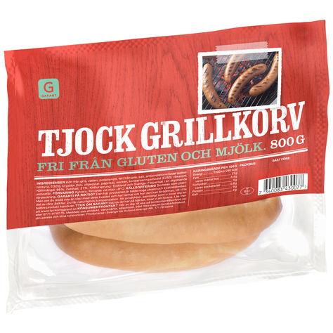 Grillkorv Tjock