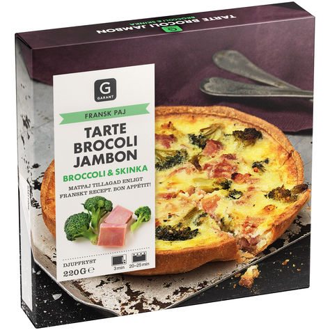 Brocoli Jambon Broccoli & Skinka Paj Fryst