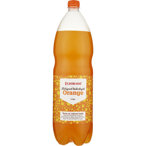 Orange Läsk Pet