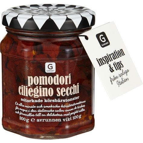 Pomodori Ciliegino Secchi Solt Körsbärstomat