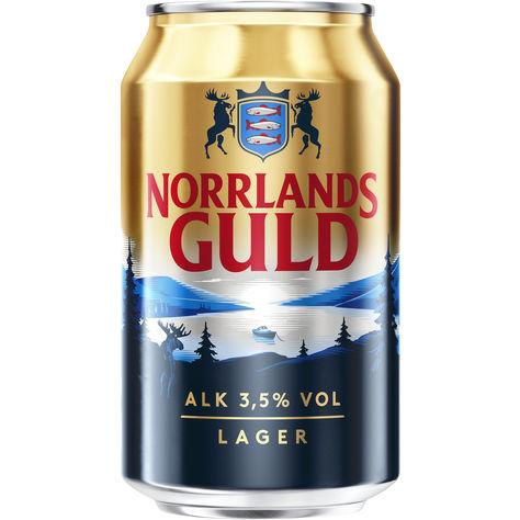 Norrlands Guld 3.5% Folköl Burk 2325e1b7363ce