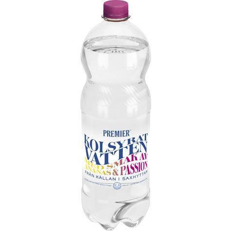 Vatten Passion/Ananas Kolsyrat Vatten Pet