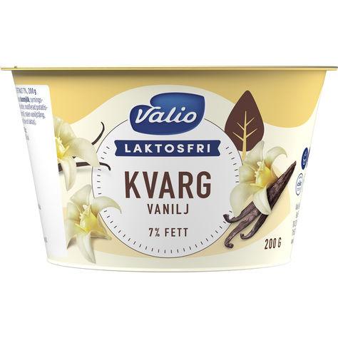 laktosfri kvarg vanilj