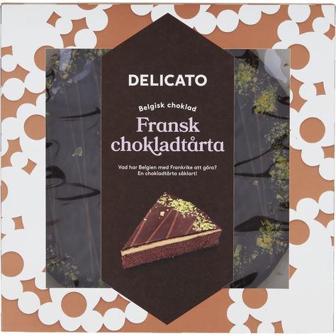 fransk chokladtårta delicato