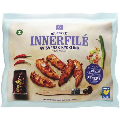 Innerfilé Av Svensk Kyckling Fryst