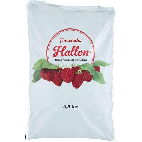 svenska frysta hallon