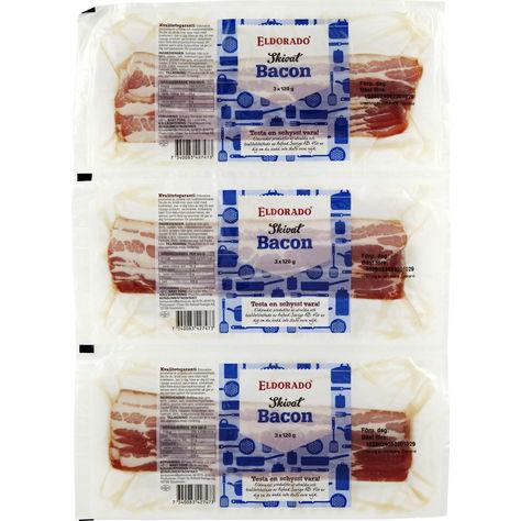 Bacon Skivad 3-Pack