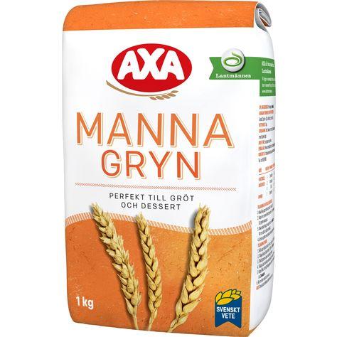 vad är mannagryn