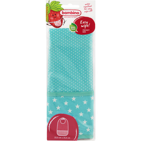 Pocket Bib Easy Wipe