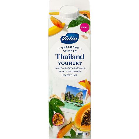 ca3ca7e751b2 Valio Thailand Yoghurt Mango Papaya Passion