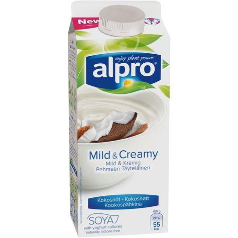 alpro mild and creamy kokos
