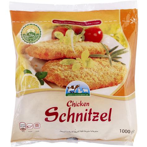 Schnitzel Kyckling Fryst