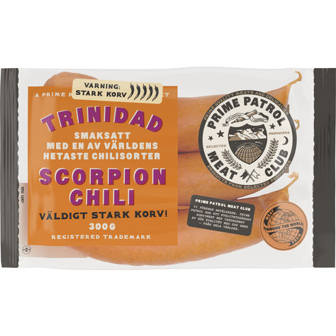 garant trinidad scorpion korv