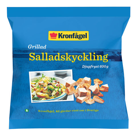 grilla fryst kyckling